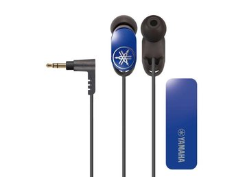 YAMAHA Hörlur EPH-W32 Bluetooth In-Ear Blå Mic