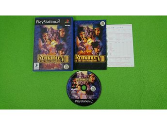 Romance VIII of the Three Kingdoms KOMPLETT Ps2 Playstation 2