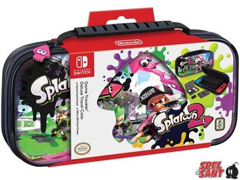 Nintendo Switch Splatoon 2 Deluxe Travel Case Svart