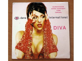 DANA INTERNATIONAL DIVA Eurovision 1998 Israel CD Singel