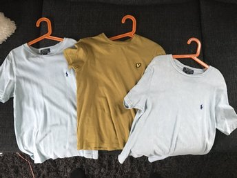 Ralph lauren och Lyle & Scott T-shirts