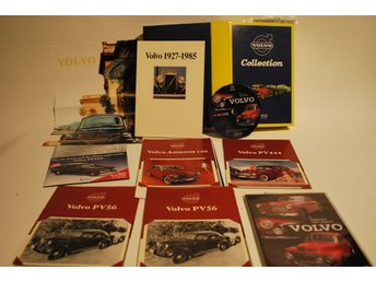 VOLVO Collection Box * Amazon PV / DVD + broschyrer + mini affisch m.m.