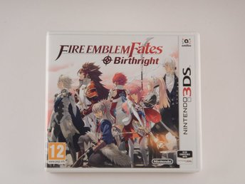 Nintendo 3DS  --  Fire Emblem Fates Birthright  --  PAL