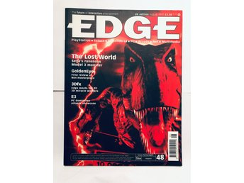 EDGE 48 Augusti 1997 The Lost World, Golden Eye, 3DFX