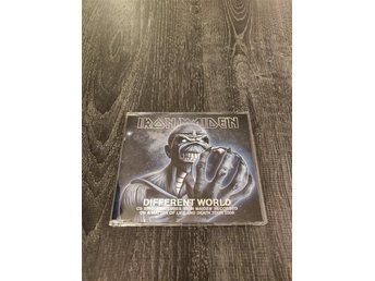 Iron Maiden - Different World - CD Single