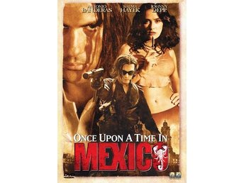 Once Upon A Time In Mexico (Antonio Banderas, Salma Hayek) - DVD