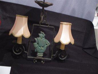 Vintage taklampa med skepp - Växjö - Vintage taklampa med skepp - Växjö