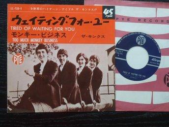KINKS - Tired of waiting for you Japan -65 - Gävle - KINKS - Tired of waiting for you Japan -65 - Gävle