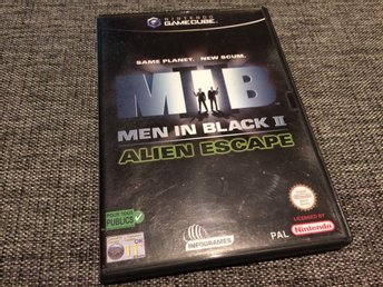 Nintendo Gamecube***Men In Black II***Komplett***