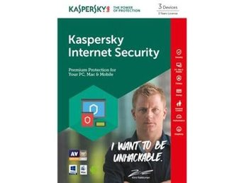Kaspersky Internet Security Multi Device Kimi Edition, 3anv 3år Attach