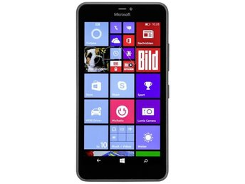 Microsoft Lumia 640 XL DS svart