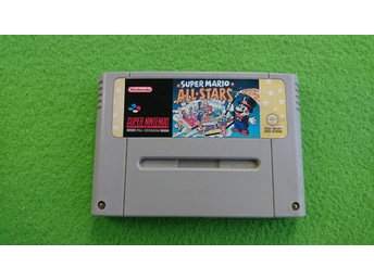 Super Mario All Stars Snes Super Nintendo allstars