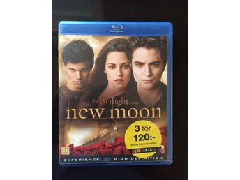 The Twilight Saga - New Moon Blu-ray disc