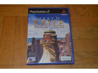 Myst III 3 Exile - Playstation 2 PS2