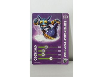 Skylanders Trap team kort Super gulp pop fizz