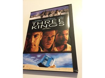 Three kings (George Clooney Mark Whalberg) Snapcase - Sv. Text - Utgått