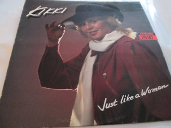 "KIKKI DANIELSSON ""JUST LIKE A WOMAN"" LP"