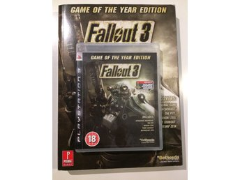 - FALLOUT 3 - PS3 - SPEL + GUIDE -