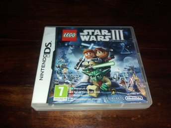 Lego Star Wars III The Clone Wars, DS, Komplett, Fint Skick!