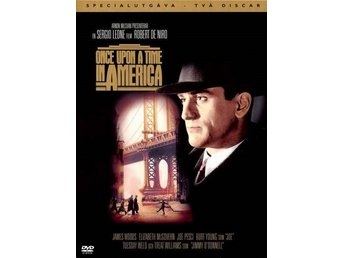 Once upon a time in America '84 (SU 2-Disc) Leone, De Niro, Woods NY DVD OOP