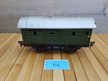 Fleischmann Made in US Zone Germany Godsvagn Vagn Nostalgi Kult Retro Nr 14