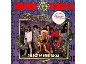 "Hanoi Rocks LP + 12"" The Best Of Hanoi Rocks + 12"" incl 4 Bonus tracks"