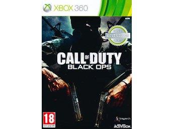 Call Of Duty Black Ops Xbox 360 - Helt Nytt Fraktfritt - Stockholm - Call Of Duty Black Ops Xbox 360 - Helt Nytt Fraktfritt - Stockholm