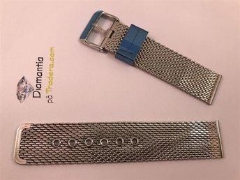 22 mm -- NYTT -- mesh länk med spänne -- klockarmband -- armband för klockor - Boliden - 22 mm -- NYTT -- mesh länk med spänne -- klockarmband -- armband för klockor - Boliden