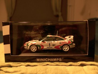 Minichamps Toyota Celica Argentina Rally 1994 Auriol/Ocelli