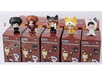5pcs One Piece Figure Anime Figur
