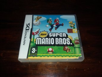 New Super Mario Bros., DS, Komplett, Fint Skick!