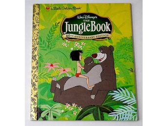 Disney The Jungle Book 40th Anniversary Edition Golden Book