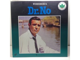 James Bond  007 Dr No (Sean Connery) Laserdisc 1LD B8-03