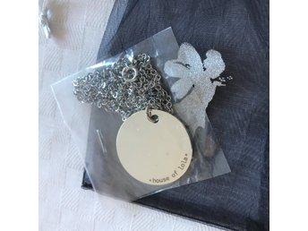 House of Lola halsband coin steel necklace NYTT!