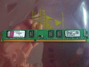 Kingston 2GB DDR3-1333MHz non-ECC Unbuffered CL9 240-Pin