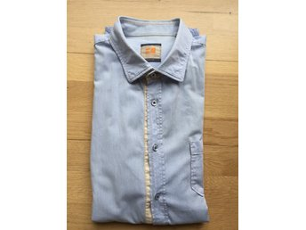 Jeansskjorta, BOSS Orange, Slim fit, storlek XL