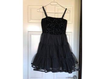 Svart klänning Lindex storlek 146 (404288562) ᐈ Köp på