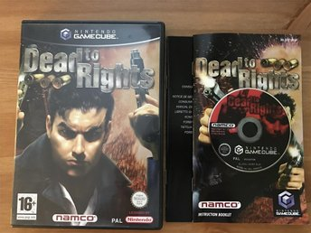 Dead To Rights (Gamecube) - Begagnat