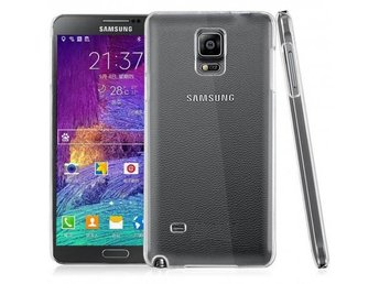 Clear Hard Case Galaxy Note 4 Färg: Transparent