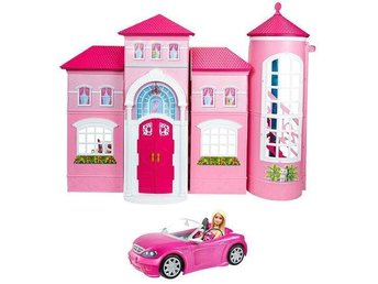 BARBIE Dream house Malibu with Barbie doll plus Cabrio Brand New Building Toys - Ginsheim - BARBIE Dream house Malibu with Barbie doll plus Cabrio Brand New Building Toys - Ginsheim