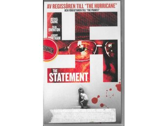 THE STATEMENT -MICHAEL CAINE  ( SVENSK VHS ! )