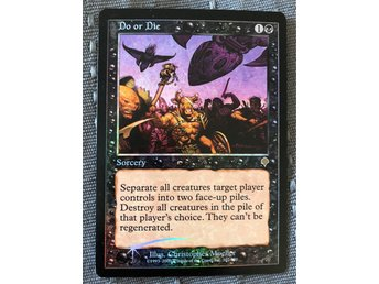 Do or Die FOIL - Invasion MTG Magic the Gathering