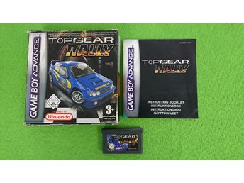 Top Gear Rally SVENSKSÅLD Gameboy Advance Nintendo