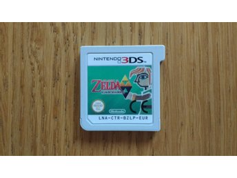 Nintendo 3DS: Zelda: A Link Between Worlds (endast kassett)