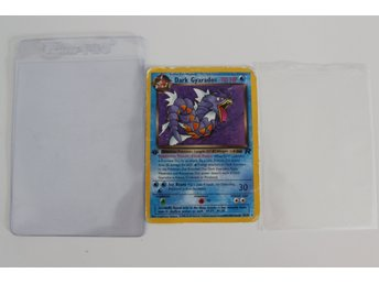 Pokemon kort Dark Gyarados 1st EDITION