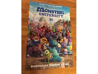 Filmaffisch - Monsters University
