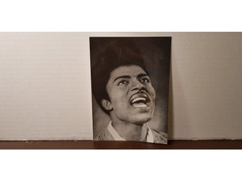 Little Richard - Äkta fotografi 18 x 13 cm