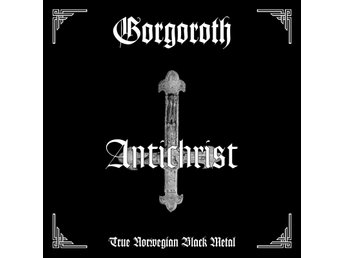 GORGOROTH-Ny LP-Antichrist-LTD 500ex Red Vinyl-True Norwegian Black Metal