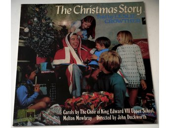 The Christmas Story - Told by Leslie Crowther LP 1969 UK