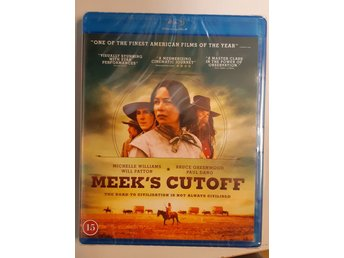 Blu-ray Meek's Cutoff Michelle Williams Svensk text INPLASTAD